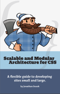 Cover of the book Scalable and Modular Architecture for CSS (SMACSS) by Jonathan Snook