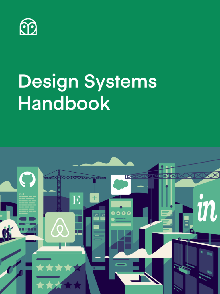Cover of the book Design Systems Handbook
